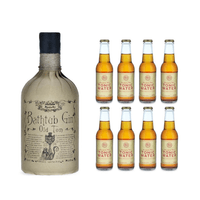 Ableforth's Bathtub Old Tom Gin 50cl mit 8x Tom's Tonic Water