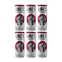 Luke's Hard Seltzer Cherry 33cl, 6er-Pack