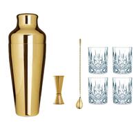 Cocktail Zubehör Starter Set Gold