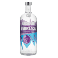 Absolut Berri Açai Vodka 100cl