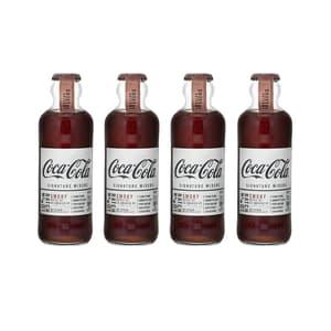 Coca-Cola Signature Mixers Smoky 20cl, 4er-Pack