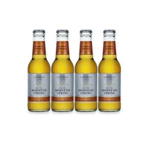 Swiss Mountain Spring Smoked Orange Ginger Ale, 4er-Pack