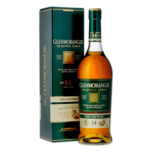 Glenmorangie Quinta Ruban 14 Years Single Malt Whisky 70cl