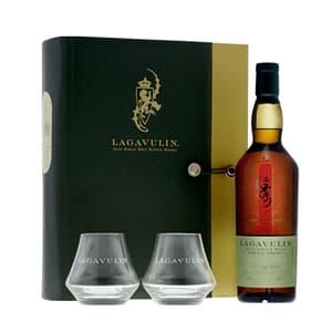 Lagavulin Distillers Edition PX Single Malt Whisky 70cl Set avec 2 Verres