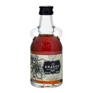 Kraken Black Spiced Mini 5cl (Spirituose auf Rum-Basis)