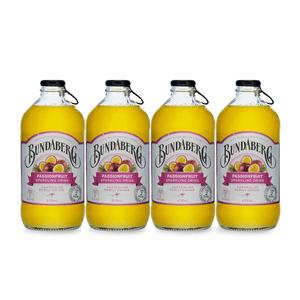 Bundaberg Passionfruit Sparkling Drink 37.5cl, 4er Pack