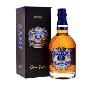 Chivas Regal 18 Years Blended Scotch Whisky 70cl