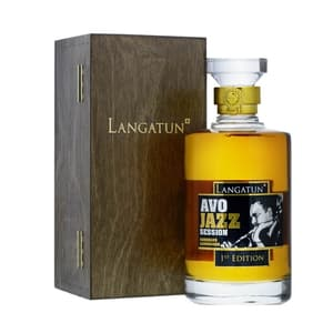 Langatun Whisky AVO Jazz 50cl mit Holzbox
