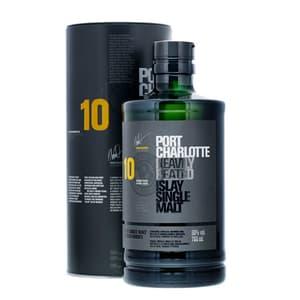 Bruichladdich Port Charlotte 10 Years Heavily Peated Single Malt Whisky 70cl