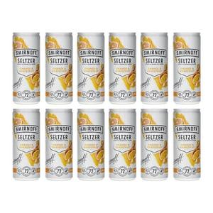 Smirnoff Seltzer Orange & Grapefruit 25cl, 12er-Pack