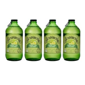 Bundaberg Lemon, Lime & Bitters 37.5cl 4er Pack