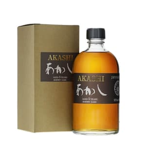 Akashi 5 Years Sherry Cask Single Malt Whisky 50cl