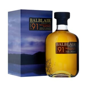 Balblair 1991 Single Malt Whisky 70cl