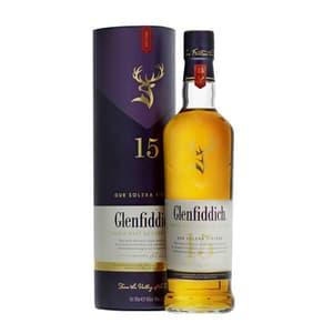 Glenfiddich 15 Years Single Malt Whisky 70cl