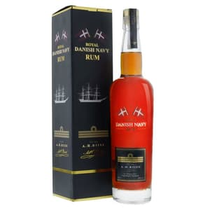 A.H Riise Royal Danish Navy Rum 70cl mit Verpackung