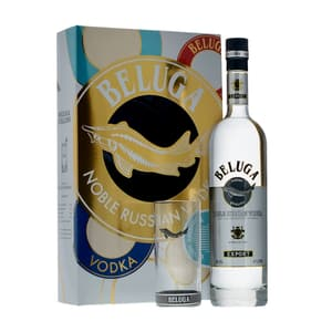Beluga Noble Vodka 70cl Set avec Verre Highball