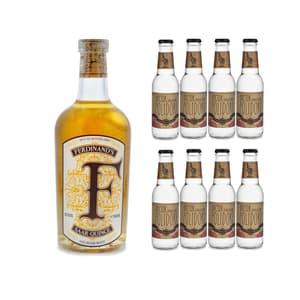 Ferdinand's Saar Quince Gin 50cl avec 8x Doctor Polidori's Dry Tonic Water