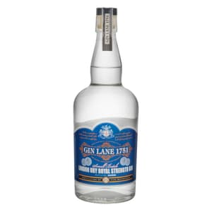 Gin Lane 1751 London Dry Royal Strength Gin Small Batch 70cl