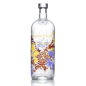 Absolut Hibiskus Vodka 75cl
