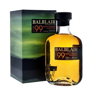 Balblair 1999 Single Malt Whisky 2nd Release 70cl