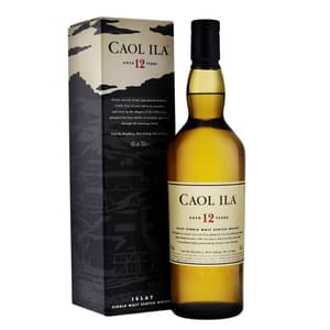 Caol Ila 12 Years Single Malt Whisky 70cl