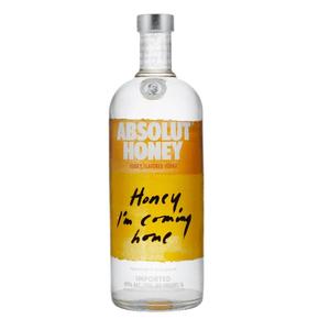 Absolut Honey Vodka 100cl