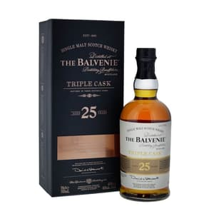 Balvenie 25 Years Triple Cask Single Malt Whisky 70cl