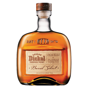 George Dickel Barrel Select Tennessee Whisky 75cl