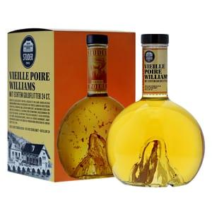 Studer Gold Selection Vieille Poire Williams avec des paillettes en or véritable (24 carats) 70cl