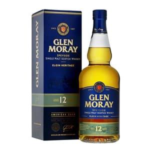 Glen Moray 12 Years Single Malt Whisky 70cl