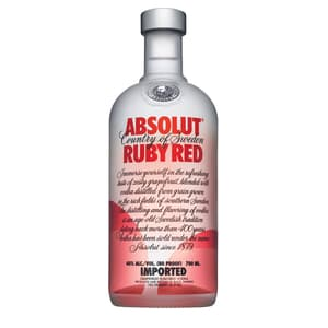 Absolut Ruby Red Vodka 70cl