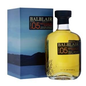 Balblair 2005 Vintage Single Malt Whisky 70cl
