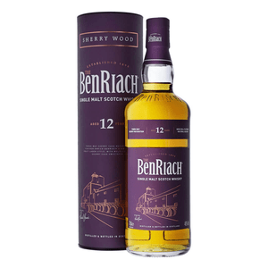 Benriach 12 Years Sherry Cask Whisky 70cl