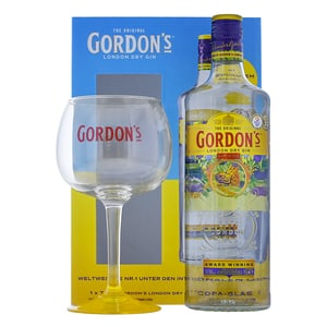 Gordon's Gin 70cl Set mit Copa Glas