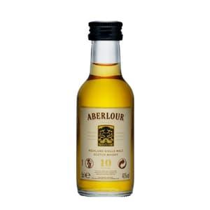 Aberlour 10 Years Single Malt Scotch Whisky 5cl