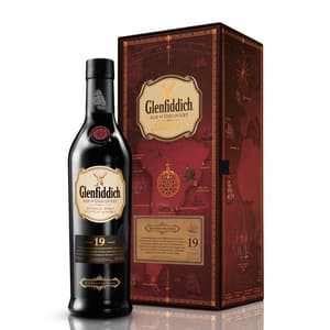 Glenfiddich 19 Years Age of Discovery Red Wine Cask Single Malt Whisky 70cl