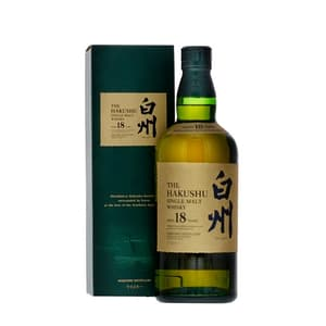 Suntory Hakushu Single Malt Whisky 18 Years 70cl