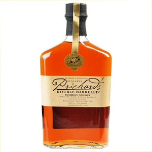 Prichard's Double Barreled Bourbon Whiskey 75cl