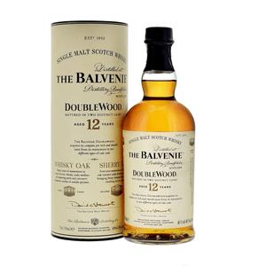 The Balvenie 12 Years Double Wood Single Malt Whisky 70cl