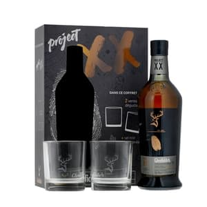 Glenfiddich Project XX Single Malt Whisky 70cl Set mit 2 Gläser