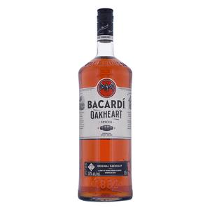 Bacardi Oakheart Spiced 150cl (Spirituose auf Rum-Basis)