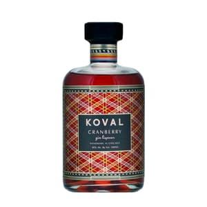 Koval Cranberry Liqueur de gin 50cl