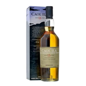 Caol Ila 15 Years Unpeated Whisky Special Releases 2018 70cl