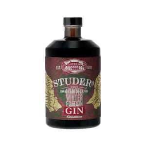 Studer's Swiss Highland Sloe Gin Cinnamon 70cl