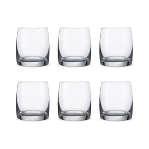 Bohemia Crystal Glass Ideal O.F. Whiskyglas 29cl, 6er-Set