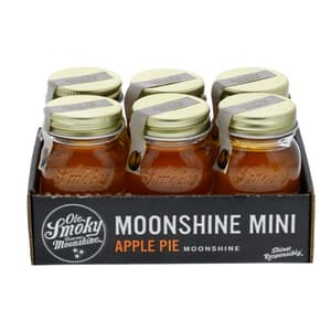 Ole Smoky Apple Pie American Whisky 5cl, 6er-Pack