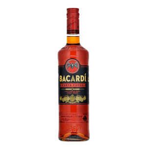 Bacardi Carta Fuego Red Spiced 70cl (Spirituose auf Rum-Basis)