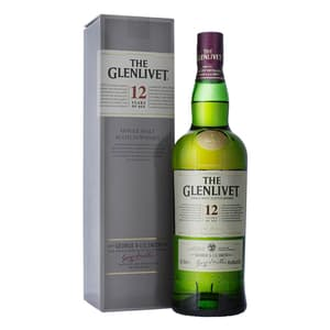 The Glenlivet 12 Years Single Malt Whisky 70cl