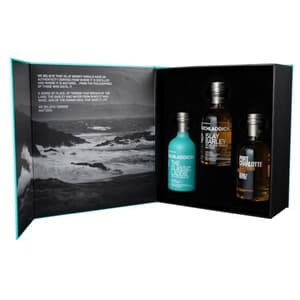 Bruichladdich The Wee Laddie Single Malt Whisky Set 3x20cl
