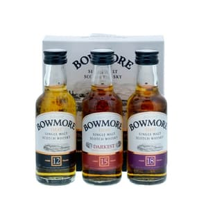 Bowmore Miniset (12, 15 & 18 Years Old Single Malt Whisky) 3 x 5cl